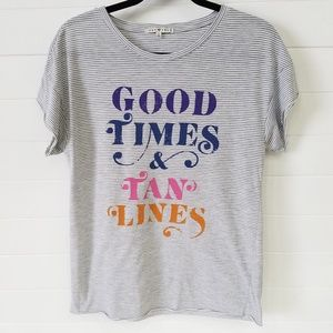Junk Food | Good Times & Tan Lines Graphic Tee